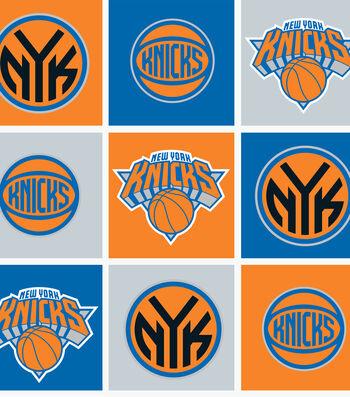 New York Knicks Fleece Fabric -Block