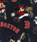 Boston Red Sox Fleece Fabric-Mickey