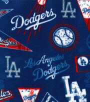 Los Angeles Dodgers Fleece Fabric-Vintage, , hi-res