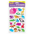 Awesome Animals superShapes Stickers-Large 112 Packs