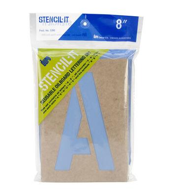 Duro Stencil-It 8'' Reusable Letter & Number Set