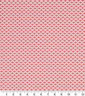 Robert Allen @ Home Print Swatch 55\u0022-Dash Motifs Coral