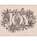Hero Arts Wood Mounted Rubber Stamp-Joy Burst