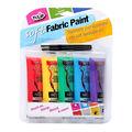 Tulip Soft Fabric Paint Primary 5PK
