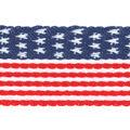 Simplicity Trims-1 1/4\u0022 Flag Belt Red White Blue