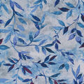 Keepsake Calico Cotton Fabric-Blue Vintage Leafy Vine