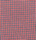 Woven Cotton Fabric 44\u0027\u0027-Red, White & Blue Gingham