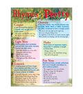 Rhymes & Poetry Learning Chart 17\u0022x22\u0022 6pk