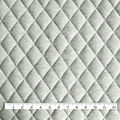 Sportswear Quilted Knit Fabric-Heather Gray