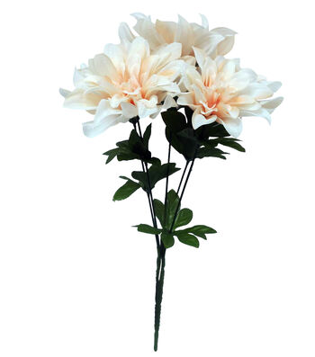Fresh Picked Spring 16'' Dahlia Bush-Cream