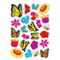 Garden Delights-Floral Stinky Stickers 6 Packs
