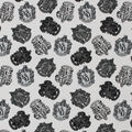 Harry Potter Knit Fabric-House Crest