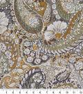 Robert Allen @ Home Print Swatch 55\u0022-Zen Paisley Amber