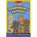 Blue -temporary Tattoos
