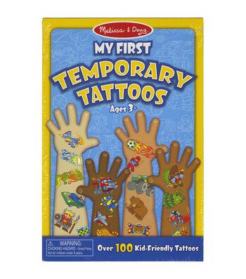Blue -temporary Tattoos