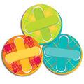 Eureka Paper Cut-Outs-Plaid Buttons