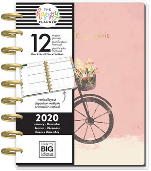 The Happy Planner Classic 2020 Dated Planner-Beautiful Day