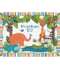 Dimensions Baby Hugs Birth Record Counted Cross Stitch Kit Mod Zoo