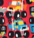 Anti-Pill Fleece Fabric 59\u0022-Monster Trucks