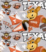 University of Texas Longhorns Cotton Fabric-Collegiate Mascot, , hi-res