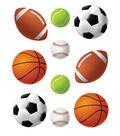 Sports Balls Accents 30/pk, Set Of 6 Packs