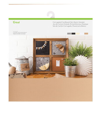Cricut 20 pk 12''x12'' Corrugated Cardboards-Basics