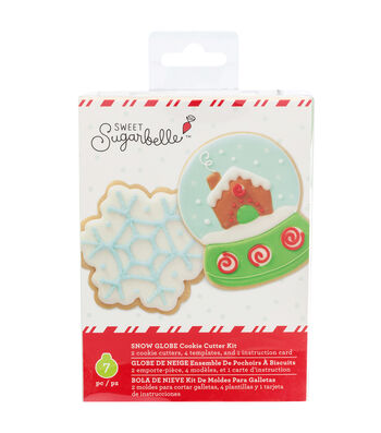Sweet Sugarbelle Christmas Cookie Cutter Kit-Snow Globe
