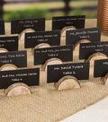 David Tutera Pack of 24 1\u0027\u0027 Wood Table Card Holders