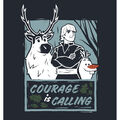 Disney Frozen 2 No Sew Fleece Throw-Courage Is Calling