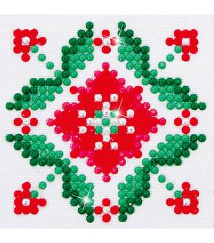 Diamond Dotz Diamond Embroidery Facet Art Kit 4.75''X4.75''-Passion Flow