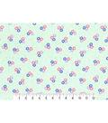 1930\u0027s Premium Cotton Print Fabric 43\u0027\u0027-Tossed Floral Bunch on Green
