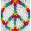 Wonderart Latch Hook Kit 8\u0022X8\u0022-Peace