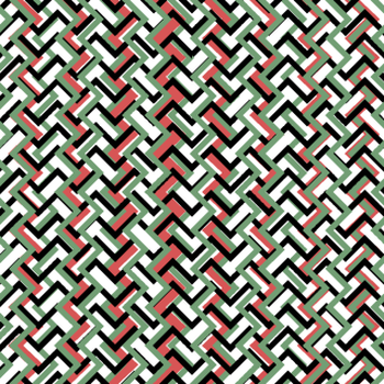 Geometric design pattern.