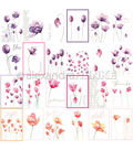 Alexandra Renke 12\u0027\u0027x12\u0027\u0027 International Flowers Papers-Mixed Tulips