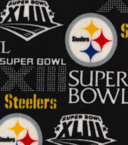 Pittsburgh Steelers Champion Legacy Fleece Fabric, , hi-res