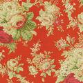 Waverly Upholstery Fabric 54\u0022-Sanctuary Rose/Crimson
