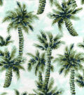 Snuggle Flannel Fabric -Palm Trees