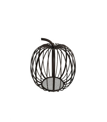 Simply Autumn Small Open Wire Pumpkin
