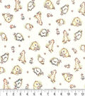 Nursery Cotton Fabric 42\u0022-Jf Habitat Cantelope