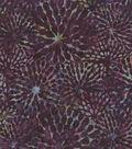 Legacy Studio Batik Cotton Fabric -Floral Explosion Purple