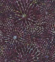 """Legacy Studio Batik Cotton Fabric 44""""-Floral Explosion Purple, , hi-res"""