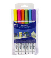 DecoArt Glass Paint Marker Multi Pack , , hi-res