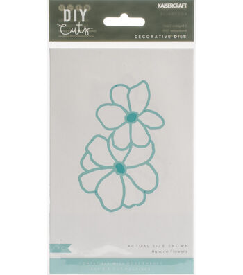 Kaisercraft DIY Cuts 3.75''x2.5'' Decorative Die-Hanami Flowers