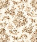 Home Decor 8\u0022x8\u0022 Fabric Swatch-Jaclyn Smith Alysssa-Caramel