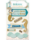 Down By The Sea Adhesive Layered Chipboard