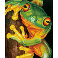 Diamond Dotz Kit-Green Tree Frog