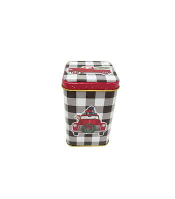 Maker's Holiday Christmas Small Square Canister-Truck