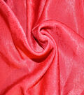 Silky Sanded Satin Fabric -Tango Red