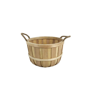 Large Basket with Rope Handles