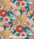 PKL Studio Outdoor Fabric-Catchin\u0027 Rays Poppy